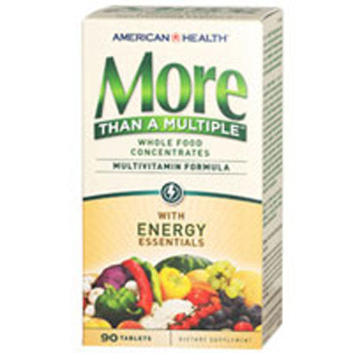 More Than A Multiple Tablets Energy Essentials 90 TABS by American Health Considered as Dietary SupplementMultivitamin Formula Whole Food Concentrates