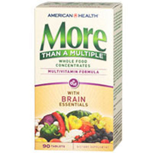 More Than A Multiple Tablets Brain Essentials 90 TABS by American Health