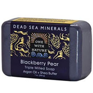 Dead Sea Mineral Bar Soap - Blackberry Pear 7 OZ