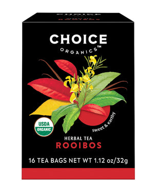 Rooibos Red Bush Tea 16 BAGS by Choice Organics