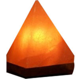 Himalayan Salt Pyramid Lamp - ct