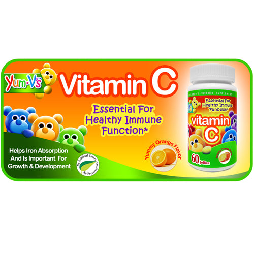 Vitamin C Jellies Orange 60 Chews by Dulce Probiotics Childrens Vitamin Supplement Essential for Healthy Immune Function* Tooth Friendly