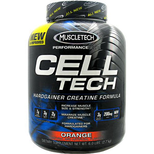 Cell Tech Performance Series Hardgainer Creatine Formula - Orange 6 lbs