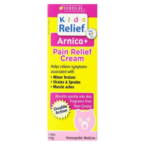 Kids Relief Arnica Plus Pain Relief Cream 1.76 OZ by Homeolab
