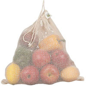 Net Sack Produce Bag Organic Cotton 1 COUNT by Eco Bags