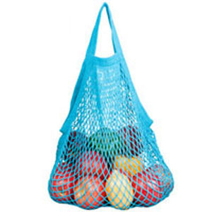 String Bags Assorted Tropicals Tote Handle Natural Cotton 10 BAG by Eco Bags