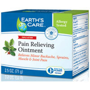 Pain Relieving Ointment 100% Natural - 2.5 OZ