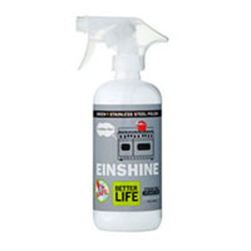 Einshine Natural Stainless Steel Cleaner And Polish 16 fl oz by Better Life E = Brilliant Shine?SafeStreak Free Appliance Shine