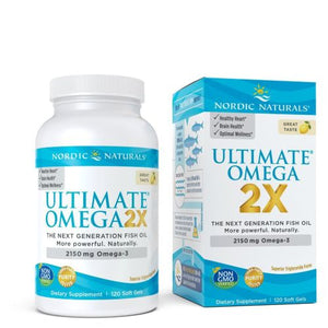 Ultimate Omega 2X 120 Count by Nordic Naturals