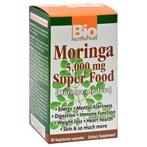 Moringa Super Food - 90 vcaps