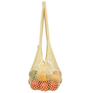 Natural Cotton Tote Handle String Bag Natural 1 Bag by Eco Bags