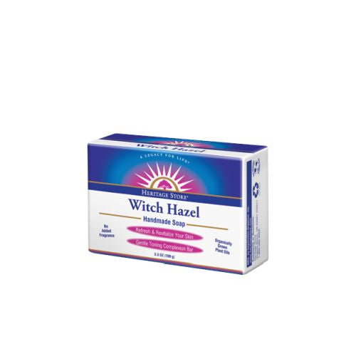 Witch Hazel Bar Soap 3.5 oz by Heritage Products