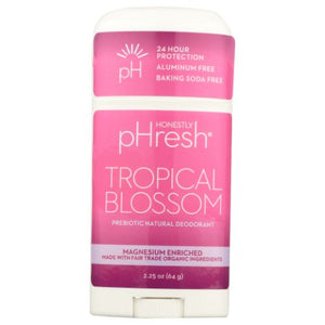 Tropical Blossom Prebiotic Natural Deodorant - 2.25 Oz