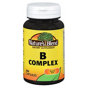 Nature's Blend B Complex Capsules 100 Caps by Natures Blend