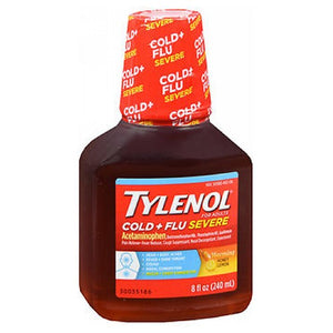 Tylenol Cold and Flu - 8 oz