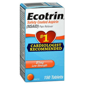 Ecotrin Low Strength Aspirin 150 Tabs