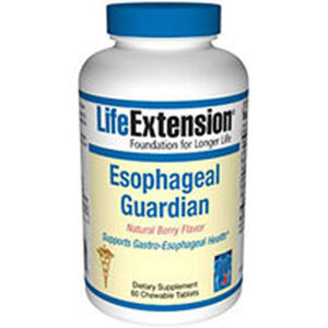 Esophageal Guardian - Natural Berry Flavor, 60 Chewable Tabs