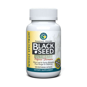 Ultimate Black Seed 100 Caps by Amazing Herbs