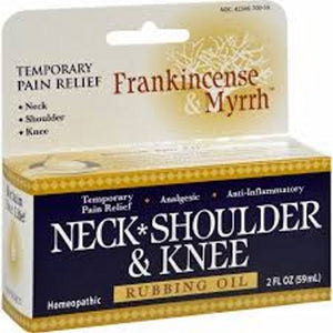 Neck Shoulder & Knee Rubbing Oil - 2 oz
