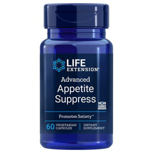 Advanced Natural Appetite Suppress 60 Vcaps by Life Extension