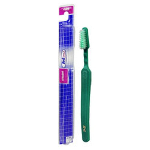 Tek Toothbrush 1 Each by Reach Curved Handle Conforms To Your Hand For Comfort and Control Tapered Head for Easy Access To Back Teeth Easy Grip Handle/Thumb Rest For Better Control End-Rounded DuPont Nylon Bristles To Help Protect Tooth Enamel and Gums