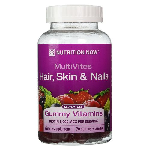 Multi-Vitamin Plus Hair Skin & Nails Support Gummies 70 CT by Nutrition Now Multi-Vitamin Plus Hair Skin & Nails Support Gummies 70 CT by Nutrition Now