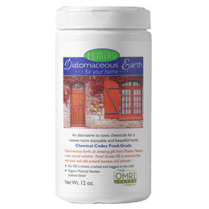 Food Grade Diatomaceous Earth - For Your Home Shaker 12 Oz