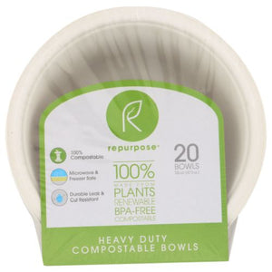 Bowls Compostable - 20 Ct