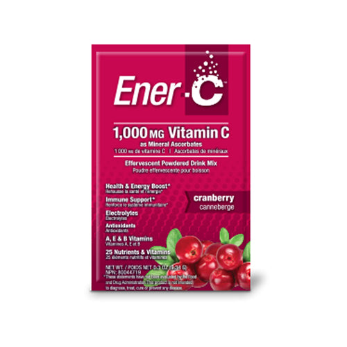 Vitamin C Effervescent Drink Mix Cranberry 30 Count by Ener-C Vitamin C Effervescent Drink Mix Cranberry 30 Count by Ener-C