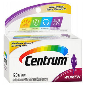 Centrum Womens Tablets 120 Tabs
