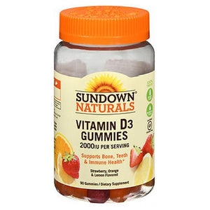 Sundown Naturals Vitamin D3 Gummies 90 Each