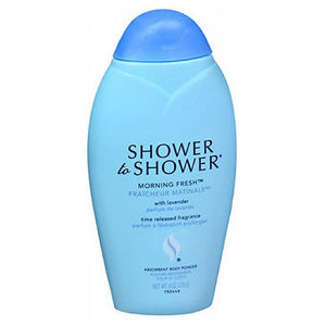 Shower To Shower Absorbent Body Powder Morning Fresh 8 Oz by Bausch And Lomb