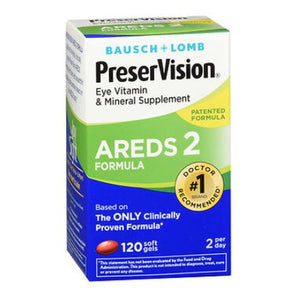 Bausch & Lomb PreserVision AREDS 2 Formula - 120 Softgels
