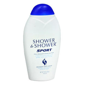 Shower To Shower Absorbent Body Powder - Sport 8 Oz