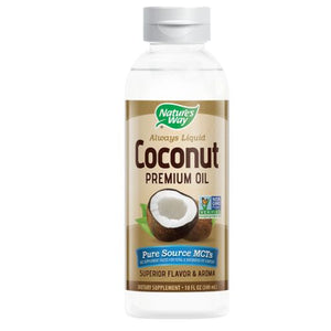 Liquid Coconut Premium Oil - 10 Oz