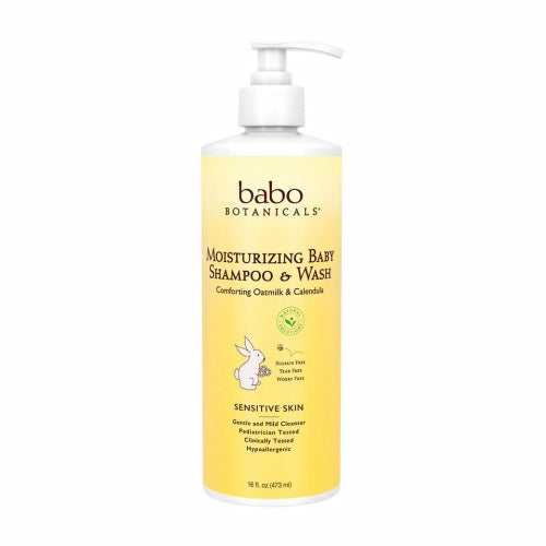 Moisturizing Baby Shampoo & Wash - 16 Oz