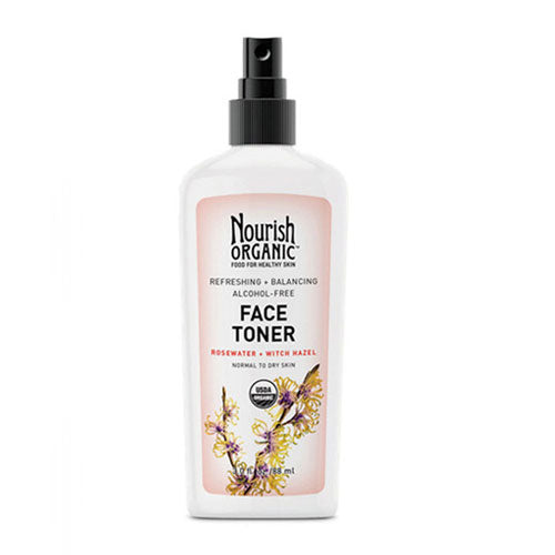 Organic Face Toner Normal To Dry - 3 Oz