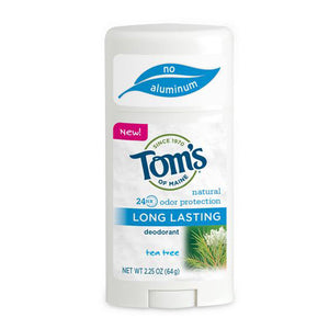 Long Lasting Deodorant Stick - Natural Powder 2.25 Oz