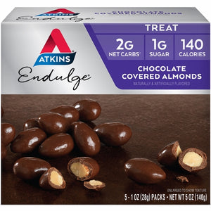 Endulge Pieces - Chocolate Covered Almonds 5/1 Oz