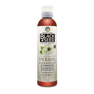 Black Seed Invigorating Herbal Shampoo - 8 oz