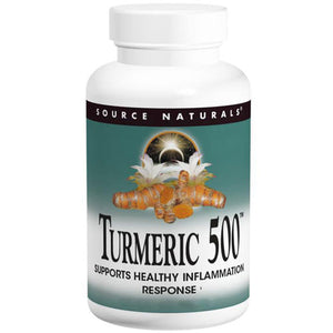 Turmeric 500 60 Tabs by Source Naturals