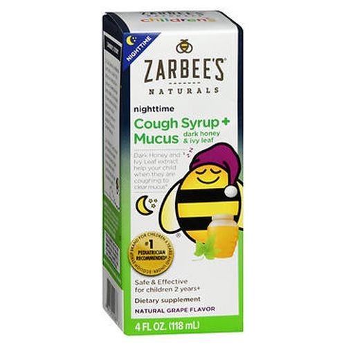 Children's Cough Syrup + Mucus Reducer Grape 4 fl oz