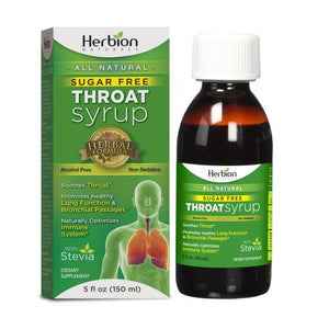 Throat Syrup With Stevia