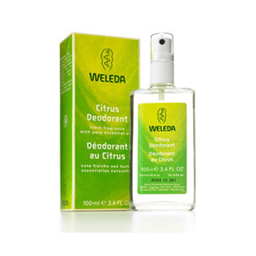 Citrus Deodorant 3.4 Oz by Weleda