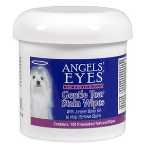 Gentle Tear Stain Wipes 100 Count