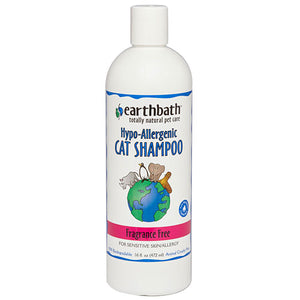 Cat Shampoo - Fragrance Free, 16 Oz