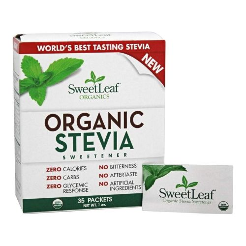 Organic Stevia Sweetener 35 Count by Wisdom Natural
