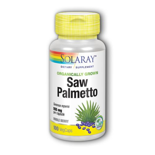 Solaray Saw Palmetto - 100 Caps