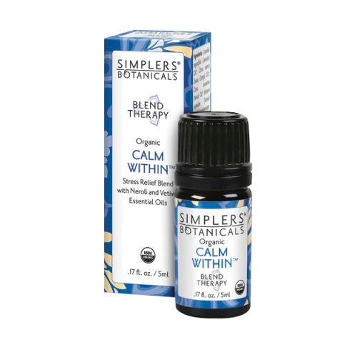 Therapy Focused and Aware Calm Within 5 ml by Simplers Botanicals