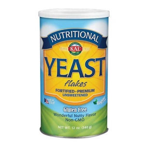Nutritional Yeast Flakes 12 oz by Kal